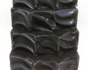 Activated Charcoal Soap - Charcoal Soap - Acne Soap - Facial Soap - All Natural Soap - Bar Soap - Cold Process Soap - Handmade Detox Soap