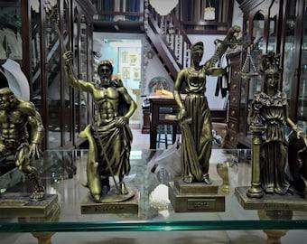 Ancient Greek Mythology Themed Statues