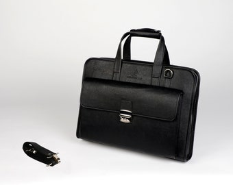 Black Sleek Laptop Bag