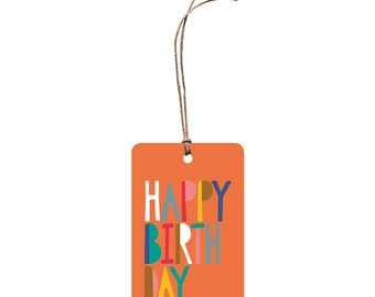 Gift Tag – Happy Birthday. Gift Card.