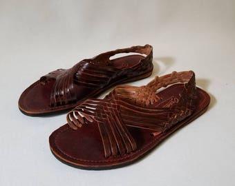 Handmade Leather Huaraches