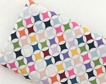 Cotton Fabric Rainbow Diamond By The Yard