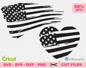 Distressed Flag svg, USA svg, American flag svg, Distressed Flag cricut. Grunge svg, Grunge Cricut, Patriotic svg, Heart svg, Flag svg