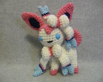 Chibi Sylveon Pokemon Pattern