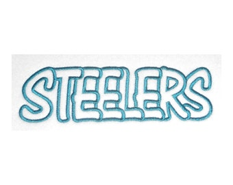 Instant Download Steelers Embroidery Machine Applique Designs-870
