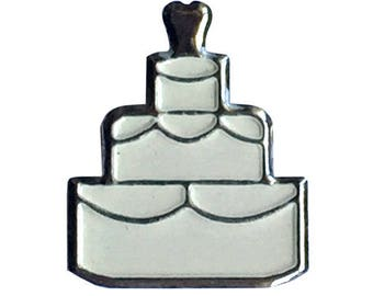 Wedding Cake Brads Embellishment (Pack of 100)