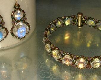 Crystal Garden Path Bracelet and Earrings Kit
