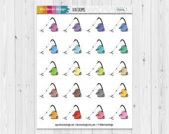 Vacuum Planner Stickers | 17045-04