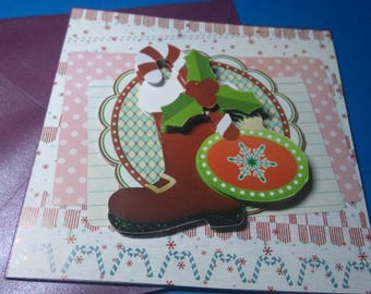 3D 774 hand made greeting card