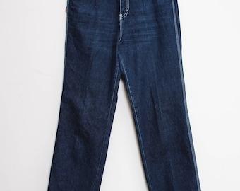 VTG 80s Bonjur Straight Leg Boot Long Cut Jeans L