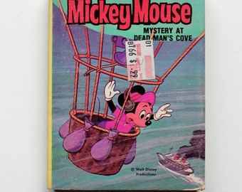 Mickey Mouse Mystery At Dead Man's Cove A Big Little Book 1980