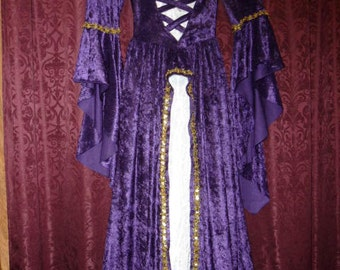 Medieval Princess Gown perfect for the Faire