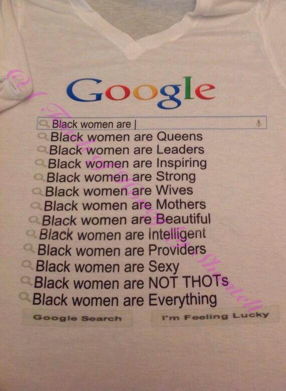 Black Men Are..../Black Women Are... Shirts