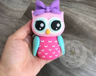 One Owl Cake Toppers