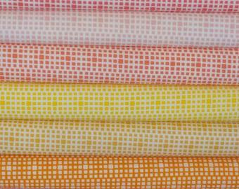 Art Gallery's Square Elements Bright Bundle - 9 Fabrics - Choose Your Cut