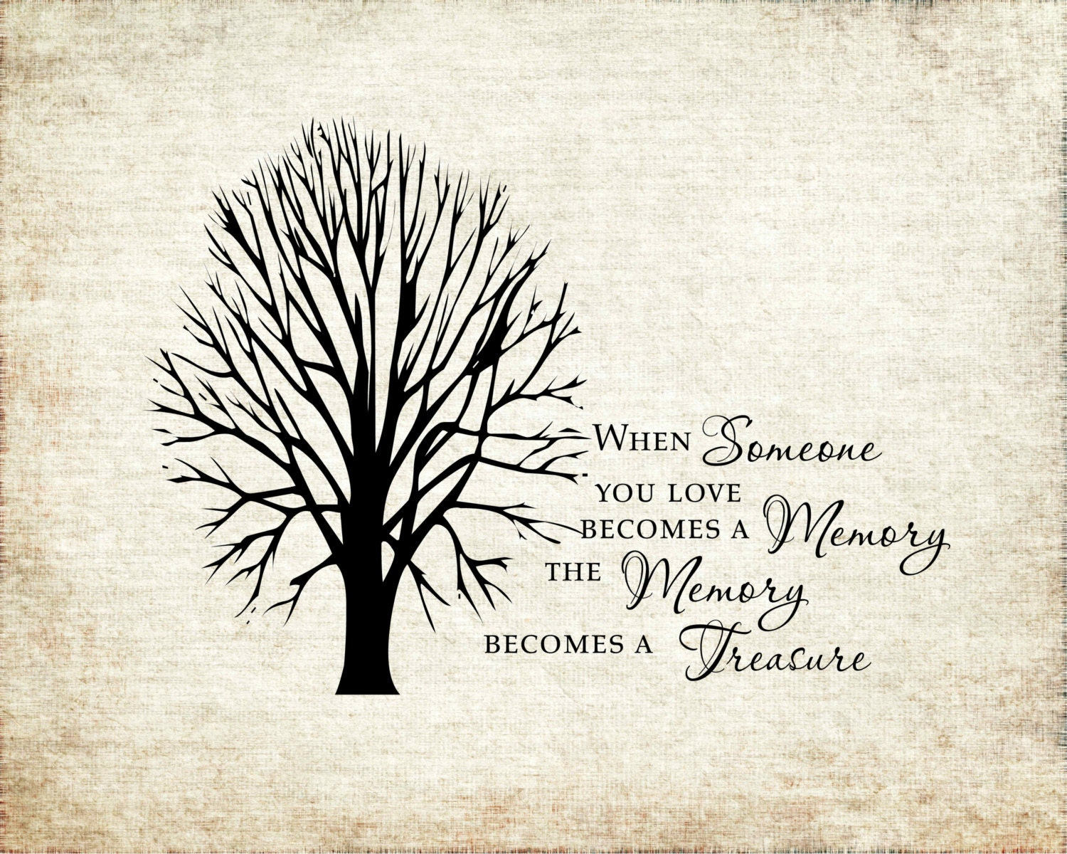 When Someone You Love Becomes A Memory That Memory Becomes A: When Someone You Love Becomes A Memory The Memory Becomes A
