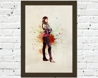 0082 Torchwood Gwen Cooper A3 Wall Art Print Multiple Sizes