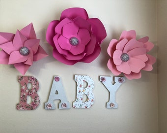 "9"" BABY Wooden Letter"