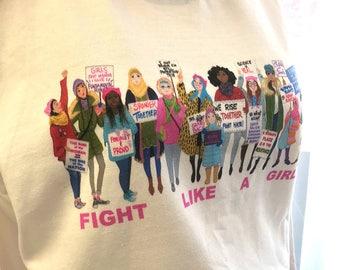 Women's March T-shirt | Sweatshirt | Women's Right | Girl Power T-shirt