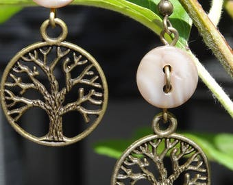 Oxygen - Earrings buttons and charms