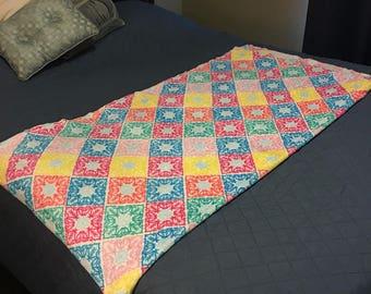 Paidley soft fleece blanket