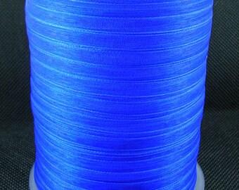 "BULK - Organza Ribbon - 1/4"" thick (6mm) - 500 yards - Blue"
