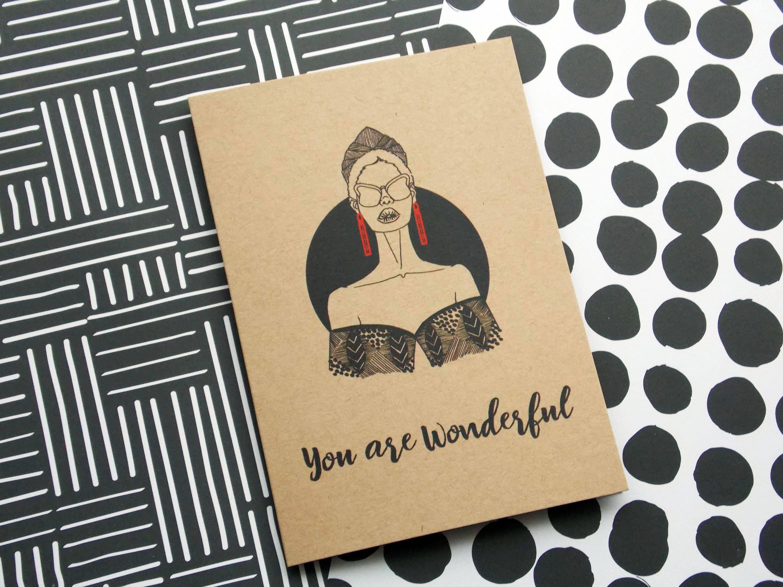 Self Care Greeting Card Set Friendship Cards Self Care
