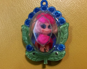 Liddle Kiddles Jewelry charm with Liddle Kiddles Doll