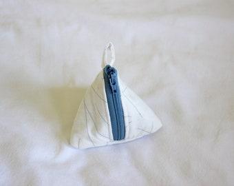 Triangle Zipper Pouch