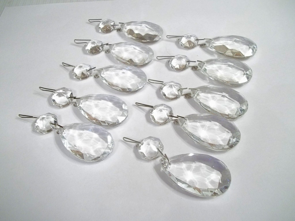 Excellent quality chandelier crystal teardrops 1 12 lot zoom arubaitofo Gallery