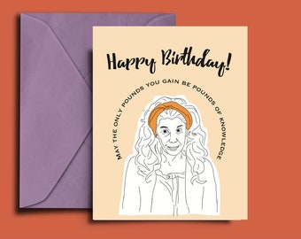Grace and Frankie Printable Card, Lily Tomlin, Birthday Card, Download, Netflix, Feminist Card, Frankie and Grace
