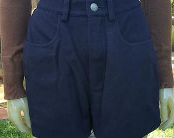 High Waisted Armani Shorts, size S