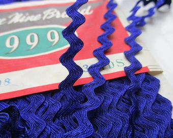 Vintage 5mm Ric Rac 'Three nines brand' made in Japan - Various lengths available