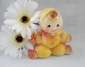 American Bisque Rag Doll Bank, c.1950