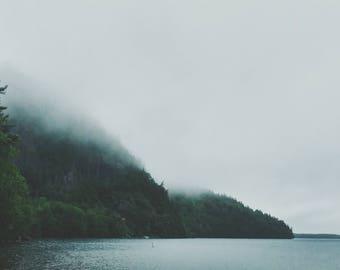 Nature Landscape Photo Print- Hazey Morning