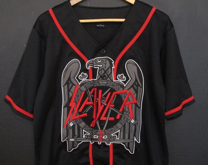 Slayer baseball jersey