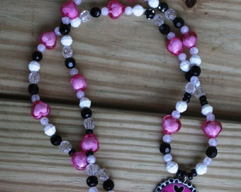Sweet 16 Gift Birthday Girl Beaded Party Favor Necklace