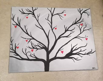 Tree Canvas Painting
