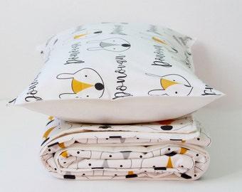Toddler Bedding - toddler bedding boy - toddler bedding girl - personalized gift - Toddler bedding set- Personalized toddler gifts