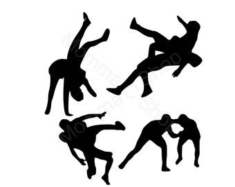 Wrestling Bundle 1  Instant SVG Digital Download File Cuttable