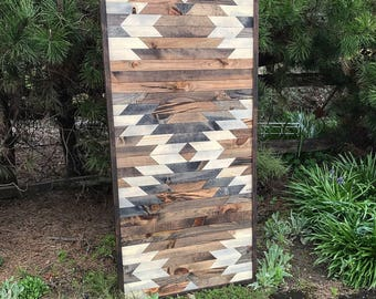 Wall Art Made Into Barn Doors