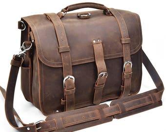 Leather Backpack Women, Laptop Backpack Bag, Messenger Backpack, Laptop Messenger Bag, Messenger Bag, Leather Messenger Bag, Labor day sale