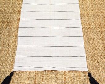 Striped rug, floor runner, vintage rug, nursery rug, bohemian rug, washable rug, rug runner, floor rug, scandinavian rug, modern rug