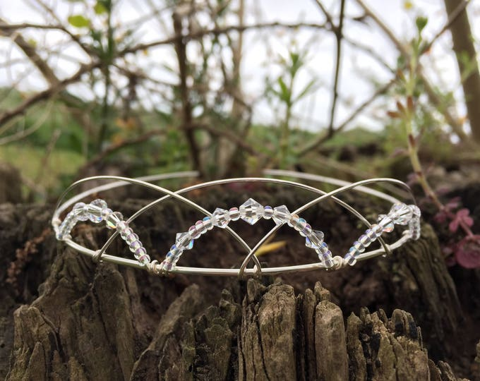 Celtic Tiara Scottish Tiara Medieval Tiara Bridal Tiara Bridal Headpiece Celtic Headpiece Scottish Headpiece Celtic Wedding Handfasting