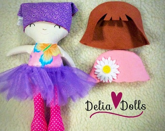 Comfort and Hope soft doll, Hospitial Doll, Fabric Doll, Dress up doll, Modern Rag Doll, Doll for play, Custom handmade doll
