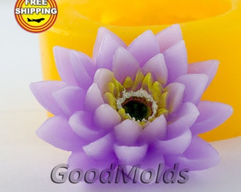 Flower 3D mold soap mold silicone molds mold for soap mold  silicone mold free shipping