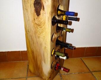 Winerack handmade wine log
