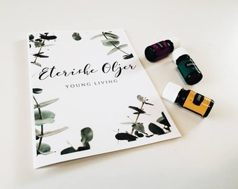 brosjyre om Young Living Eteriske oljer