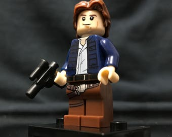Han Solo The Empire Strikes Back Star Wars Custom Minifigure