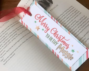 Holiday Wizard Bookmark